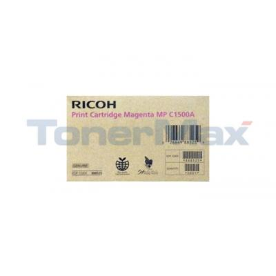 RICOH AFICIO MP C1500A PRINT CARTRIDGE MAGENTA